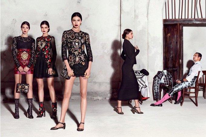 Бабушки и тореадор  в новой рекламе  Dolce & Gabbana. Изображение № 1.