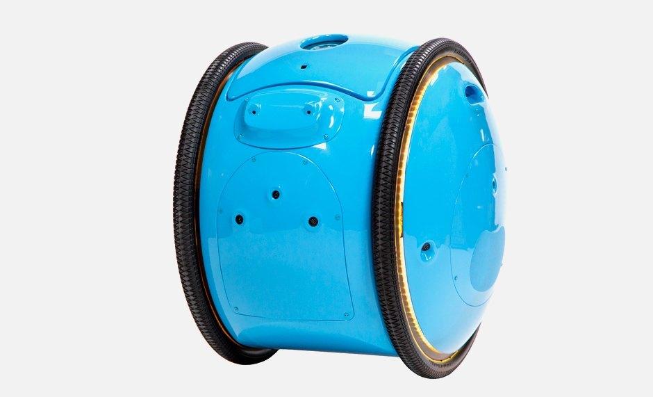 Робот-чемодан, который ездит за хозяином. Изображение № 1.