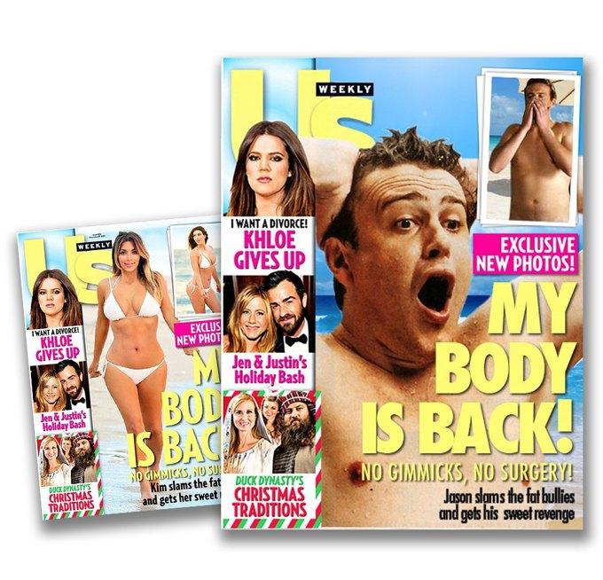 Что, если бы таблоиды обсуждали мужчин так же, как женщин?. Изображение № 1.