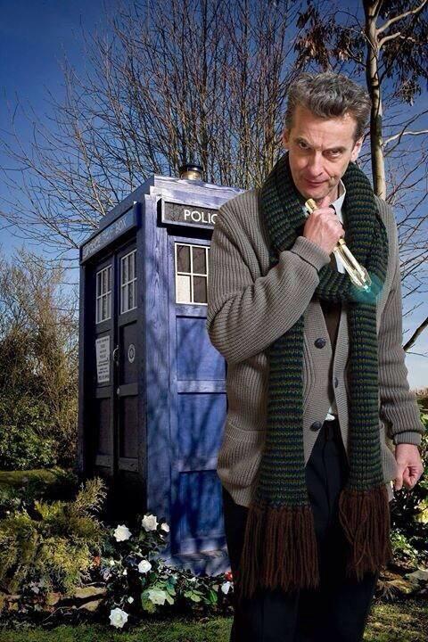 Питер Капальди в образе Доктора. Изображение № 1.