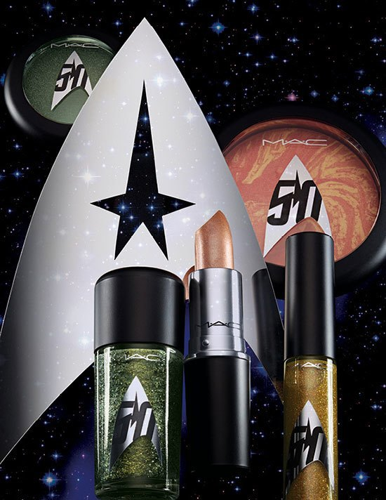 MAC готовит коллекцию  в честь героинь  сериала «Star Trek». Изображение № 1.