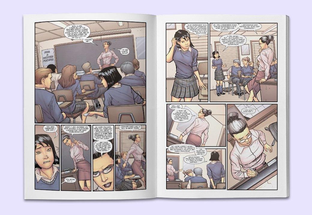 10 комиксов, по которым нужно срочно снять сериал. Изображение № 5.