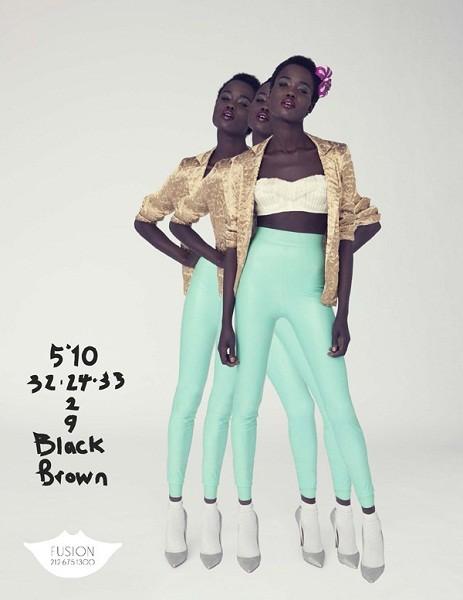 Композитки пяти модельных агентств к Нью-Йоркской неделе моды. Изображение № 35.