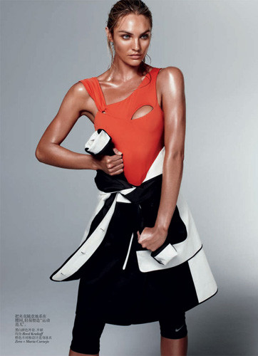 Съемка из китайского Vogue, февраль 2012 . Изображение № 18.