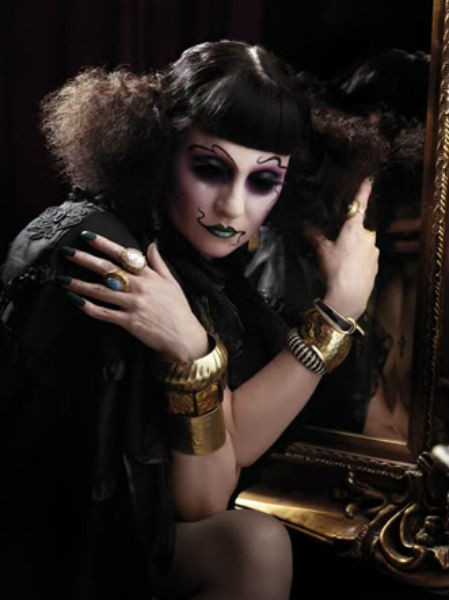 Рекламная кампания коллекции  «Theatre of the Nameless» косметики Illamasqua. Изображение № 67.