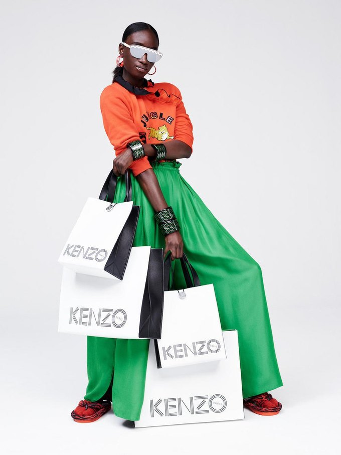 Вышел лукбук коллаборации Kenzo x H&M. Изображение № 22.