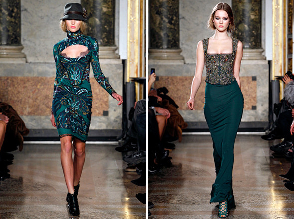 Изображение 4. Показы на Milan Fashion Week FW 2011: день 4.. Изображение № 4.