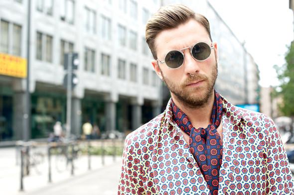 Стрит-стайл: Неделя мужской моды в Милане. Изображение № 32.