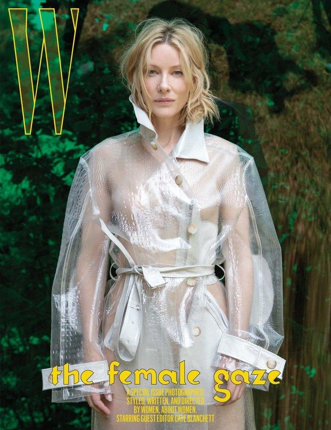 Кейт Бланшетт стала редактором «женского» выпуска W Magazine. Изображение № 3.