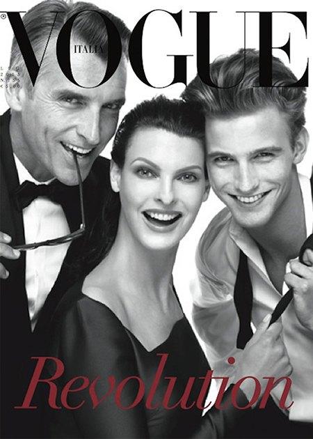 Стивен Мейзел отметил юбилей работы с Vogue шестью обложками. Изображение № 3.