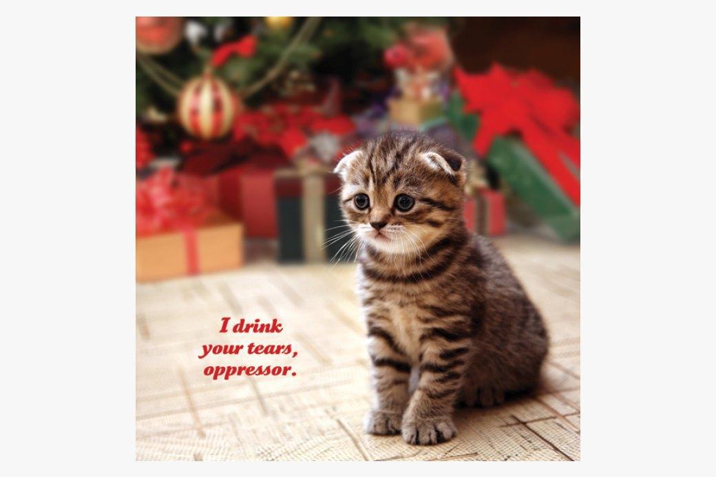 Календарь  со здравомыслящими  котятами на 2015 год. Изображение № 4.