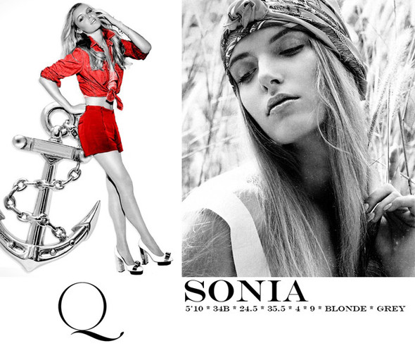Композитки пяти модельных агентств к Нью-Йоркской неделе моды. Изображение № 21.