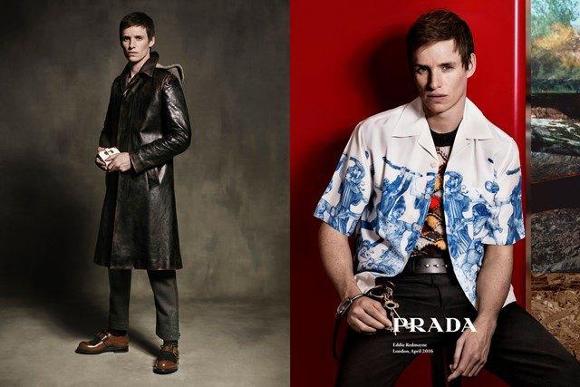 Эдди Редмэйн стал новым лицом Prada. Изображение № 1.