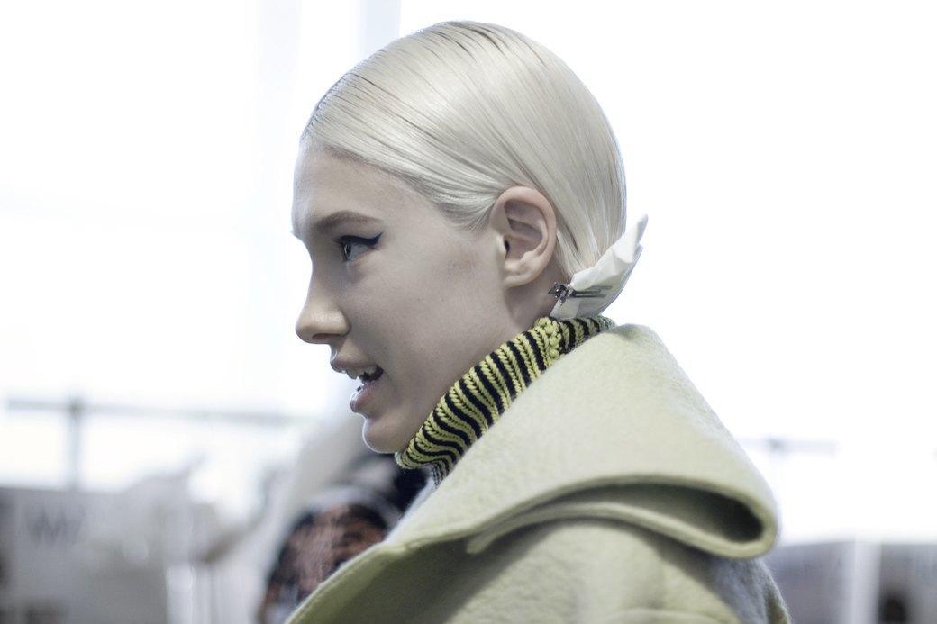 Paris Fashion Week FW 14: Бэкстейдж показа Kenzo. Изображение № 4.