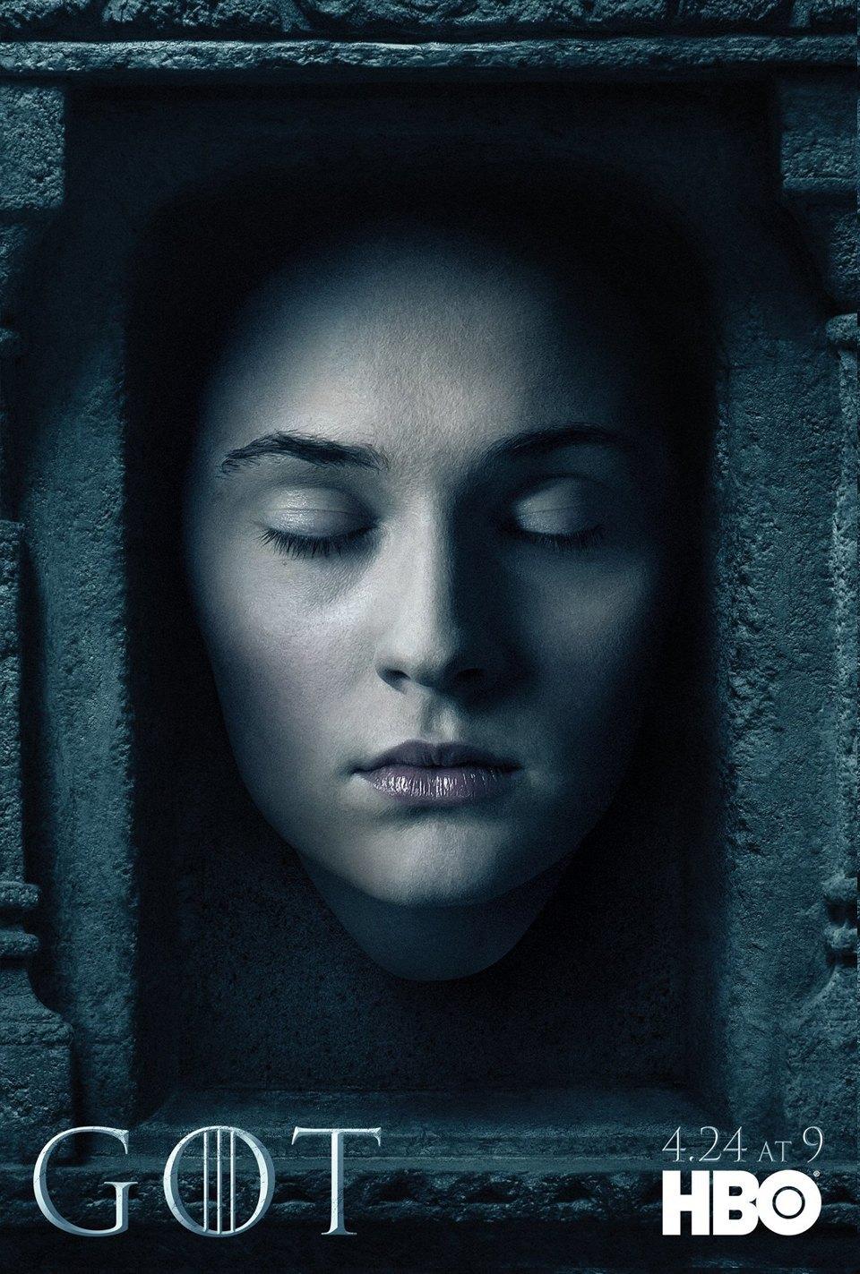 Постеры с героями «Игры престолов» к новому сезону. Изображение № 3.