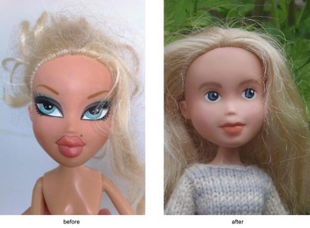 С кукол Bratz смыли агрессивный макияж. Изображение № 1.