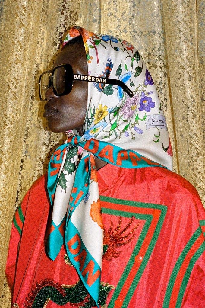 Gucci показали коллаб с дизайнером Дэппер Дэном. Изображение № 29.