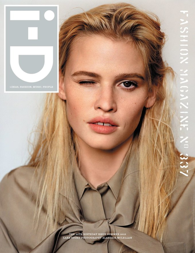 Журнал i-D отметил  35-летие восемнадцатью обложками с моделями. Изображение № 1.