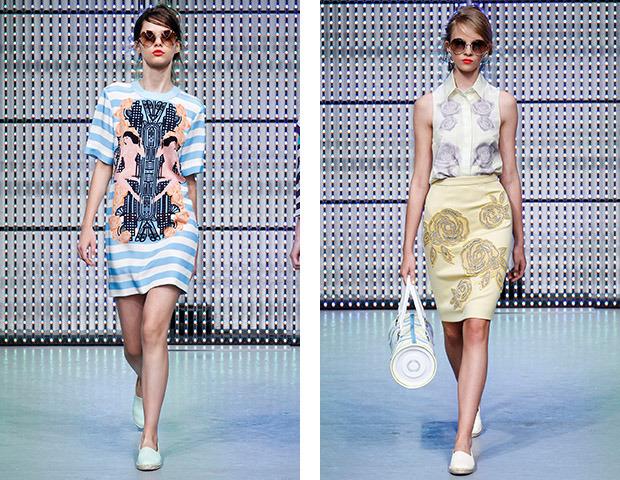 Неделя моды в Лондоне: Показы Issa, Holly Fulton, House of Holland, John Rocha и Moschino. Изображение № 11.