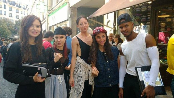Прямой репортаж  с Paris Fashion Week:  День 2. Изображение № 20.