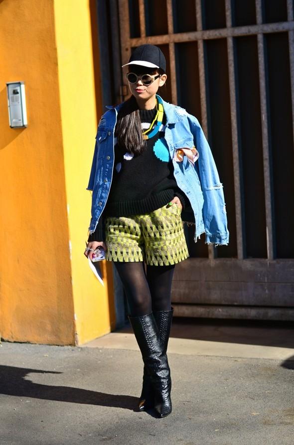 Неделя моды в Милане: Streetstyle. Изображение № 4.