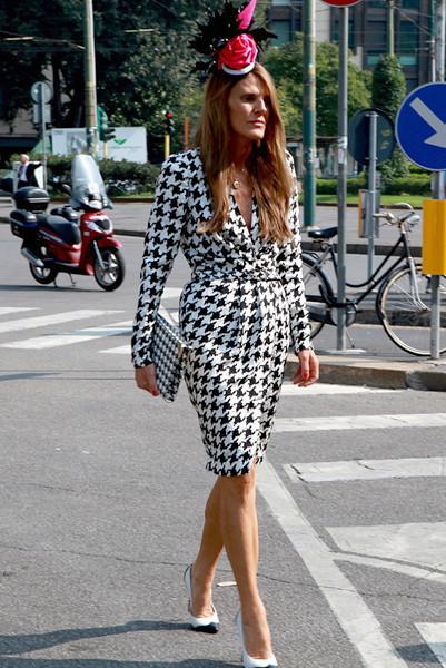Milan Fashion Week: Уличный стиль, день 4. Изображение № 10.