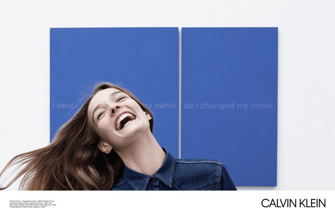 Новая кампания Calvin Klein посвящена современному искусству. Изображение № 7.