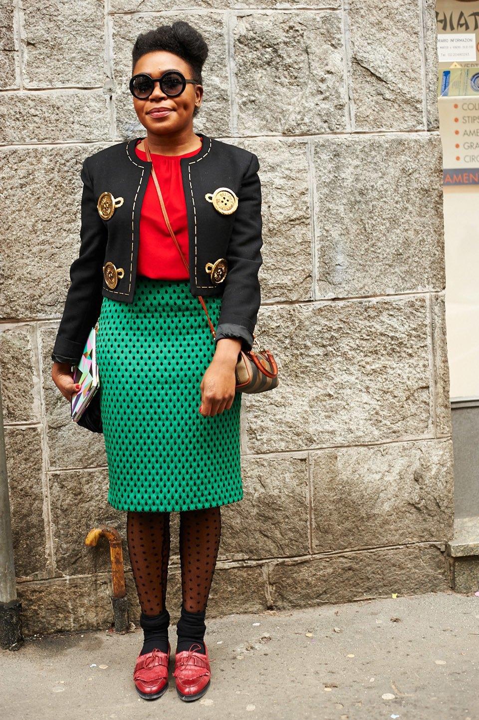 Стритстайл:  Неделя моды в Милане,  часть I. Изображение № 5.