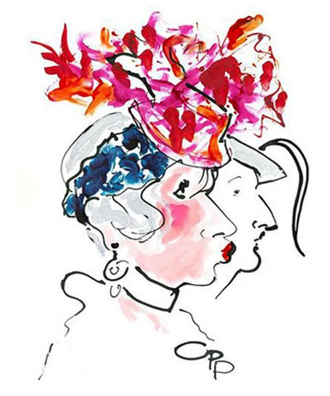 Эскиз Стивена Джонса, посвященный его дружбе с Анной Пьяджи. Изображение № 1.