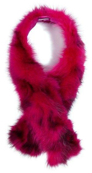Вещи из цветного меха  в осенне-зимних  коллекциях. Изображение № 20.