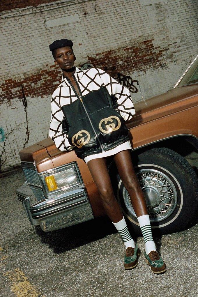 Gucci показали коллаб с дизайнером Дэппер Дэном. Изображение № 17.