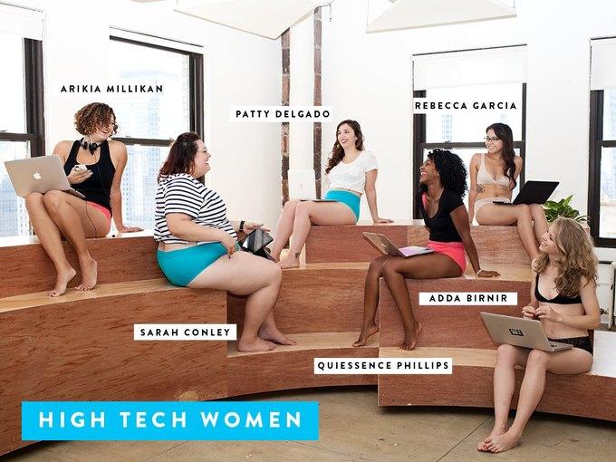 Dear Kate сняли лукбук  с женщинами, работающими в IT-сфере. Изображение № 2.