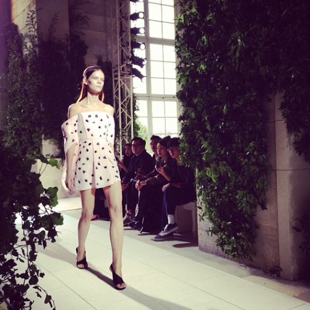 Прямой репортаж  с Paris Fashion Week:  День 3. Изображение № 29.