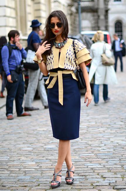London Fashion Week: Уличный стиль, часть 1. Изображение № 26.