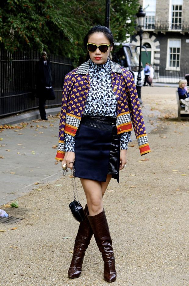 Streetstyle: Неделя моды в Лондоне, часть 2. Изображение № 37.