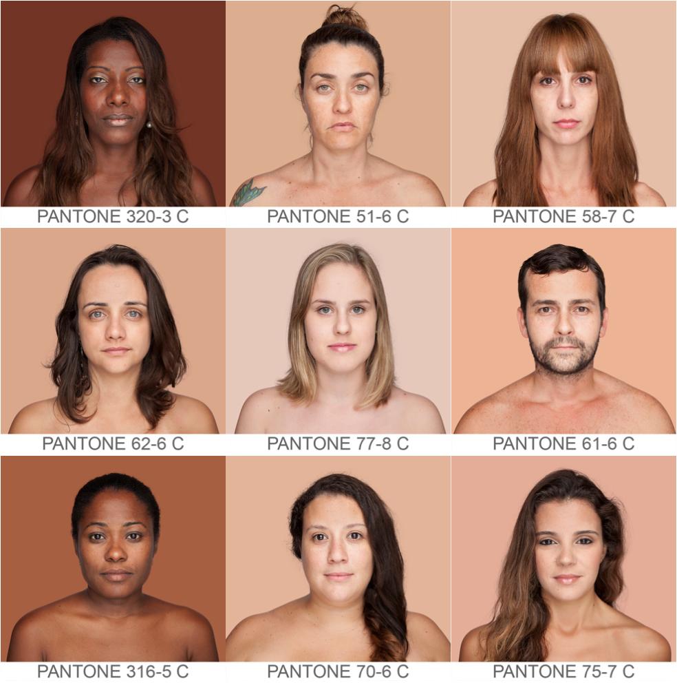 Всемирный каталог  оттенков кожи Humanæ. Изображение № 2.