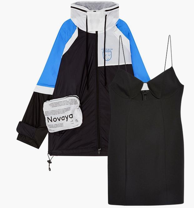 Комбо: Ветровка с летним платьем. Изображение № 3.