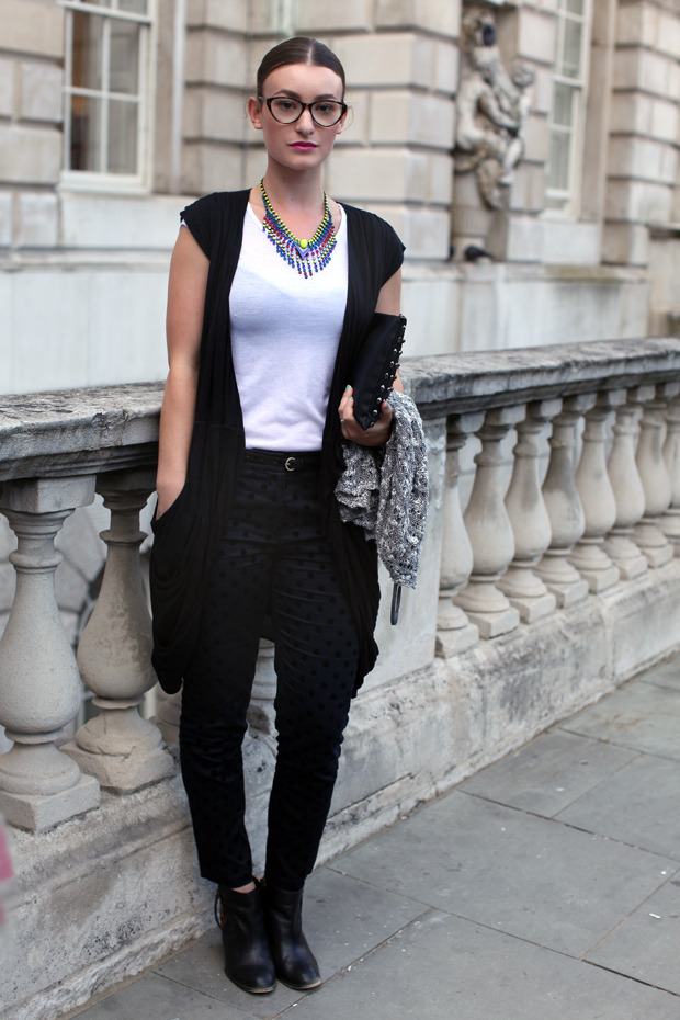 Streetstyle: Неделя моды в Лондоне, часть 1. Изображение № 46.