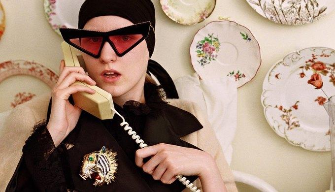 Gucci выпустили новую кампанию, посвящённую коллекционерам. Изображение № 11.
