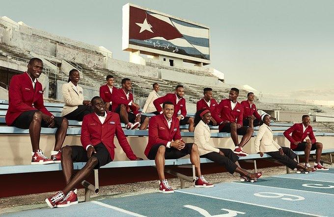 Christian Louboutin создали парадную форму для кубинских спортсменов. Изображение № 2.