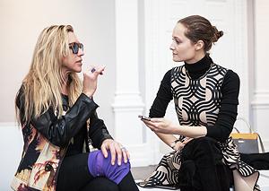 Майя Норман, дизайнер:  «Пикассо на платье —  это круто». Изображение № 4.
