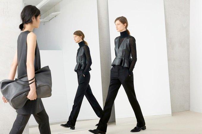 Кася Струсс, пальто и клетка в ноябрьском лукбуке Zara. Изображение № 5.