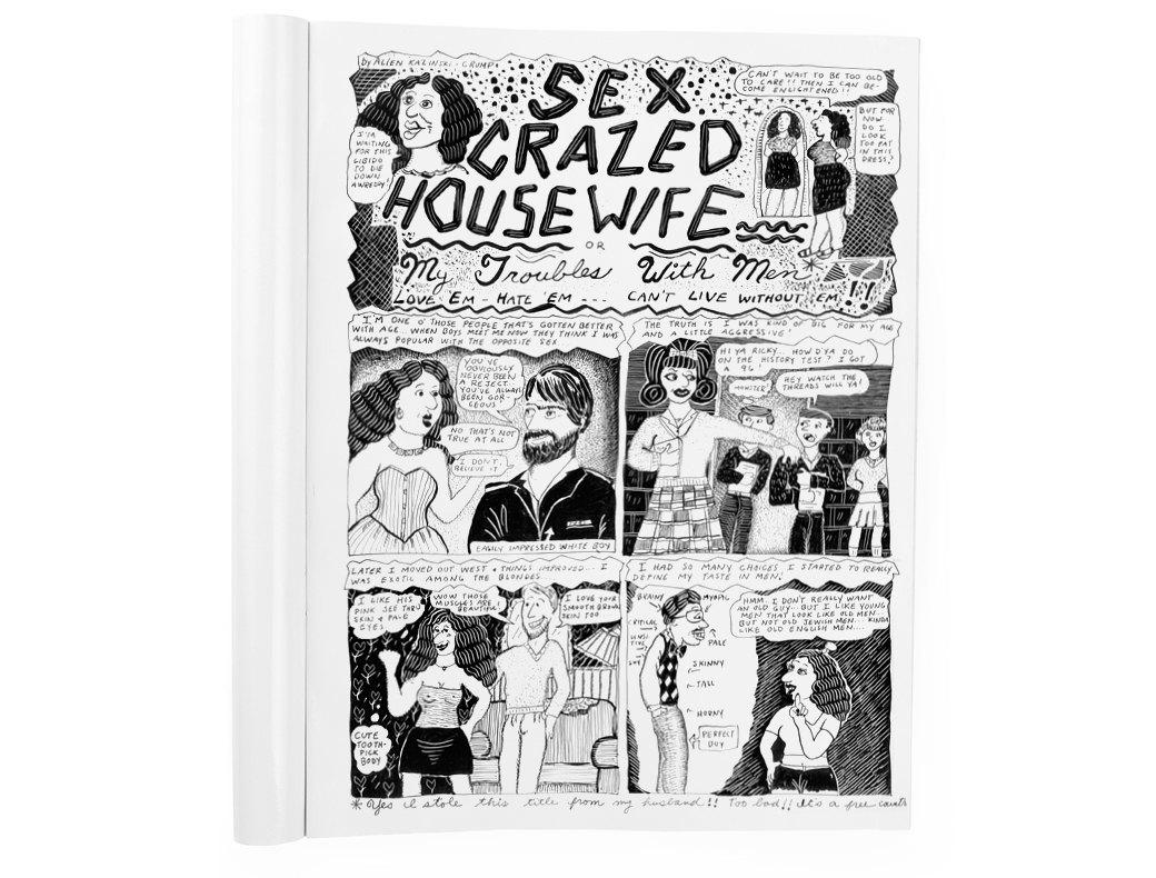 Мемуары в картинках: 10 комиксов о жизни женщин. Изображение № 9.