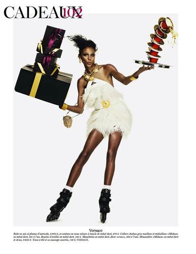 Съемка из французского Vogue, декабрь 2011 / январь 2012 . Изображение № 48.