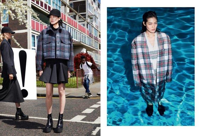 Модели в бассейне в кампании Stella McCartney. Изображение № 3.