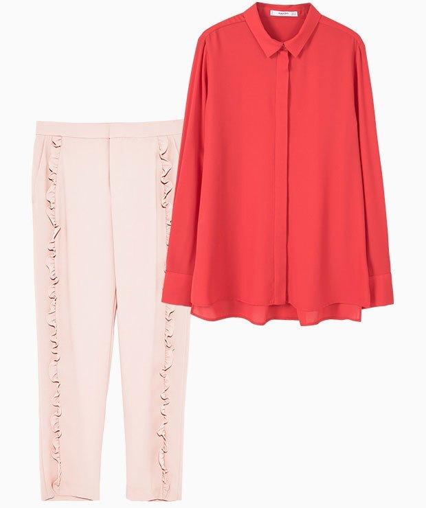 Комбо: Розовый с красным. Изображение № 1.