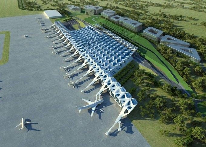 Заха Хадид спроектирует новый лондонский аэропорт . Изображение № 2.