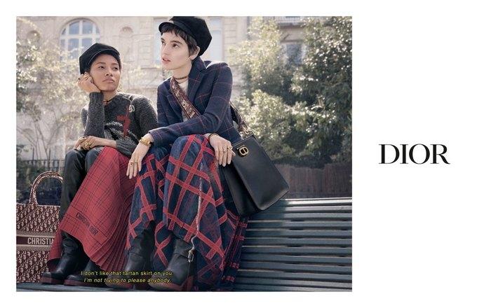 Dior показал кампанию в духе фильмов французской новой волны. Изображение № 4.