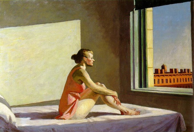 Эдвард Хоппер Morning sun, 1952.. Изображение № 4.