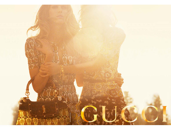 Кампания Gucci SS 2006 с Фреей Бехой Эриксен и Изелин Стейро. Изображение № 129.